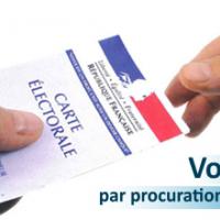 Elections 2017 - Effectuez vos démarches de vote par procuration le plus tôt possible