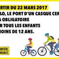 Prévention routière - A vélo, le casque devient obligatoire pour les enfants de moins de 12 ans