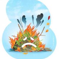 Le brûlage des déchets verts à l'air libre, une pratique dangereuse et polluante
