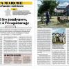 Eco-pâturage : un article du Pélerin sur notre commune