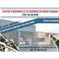 Devenez sapeur-pompier volontaire !