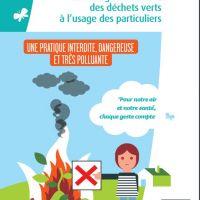 Brûlage de déchets : pollution toxique !