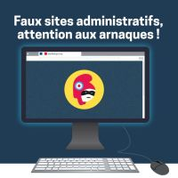 Faux sites administratifs : attention aux arnaques