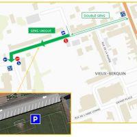 Nouveau plan de circulation rue de la grotte