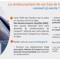 CPAM : remboursement des frais de transport en ligne