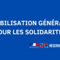 Mobilisation générale pour les solidarités