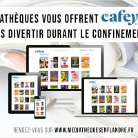 """Vos médiathèque vous offrent """"Cafeyn"""""""