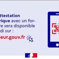 - ATTESTATION DE DÉPLACEMENT DÉROGATOIRE NUMÉRIQUE -
