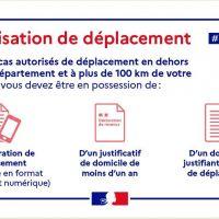 - AUTORISATION DE DÉPLACEMENT –