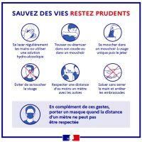 -Sauvez des vies RESTEZ PRUDENTS-