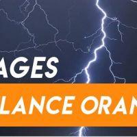 """Vigilance orange """"orages"""""""