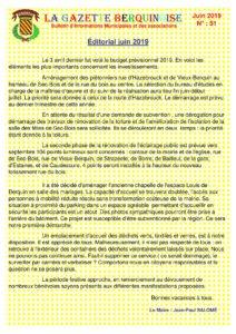 gazette-une-2019-06