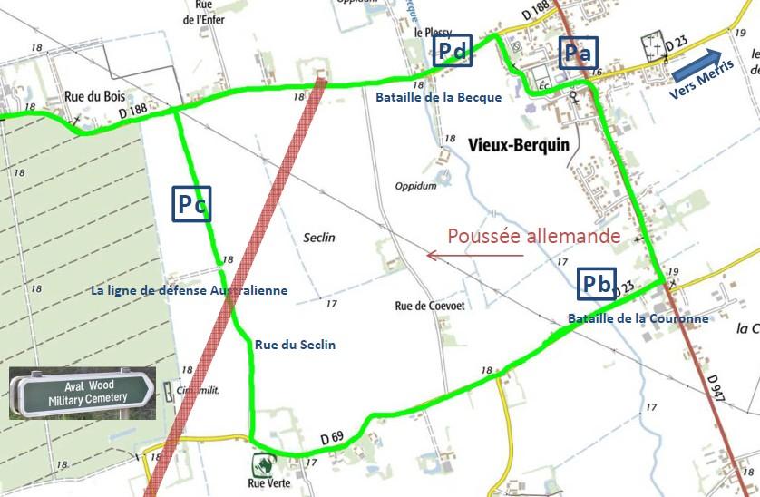 Chemin Mémoire VxB
