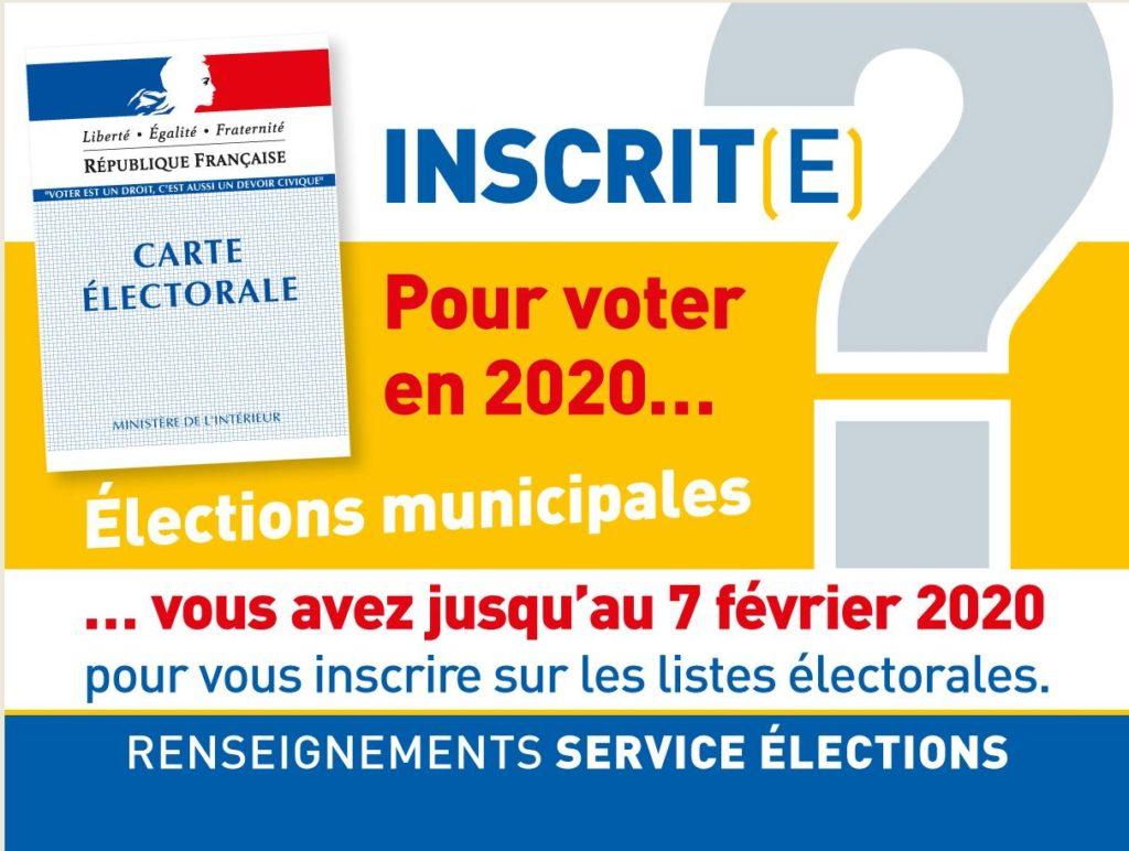 Inscriptions électorales