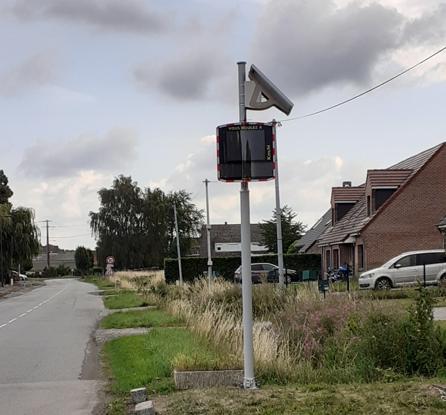 radar pédagogique rue du Bois